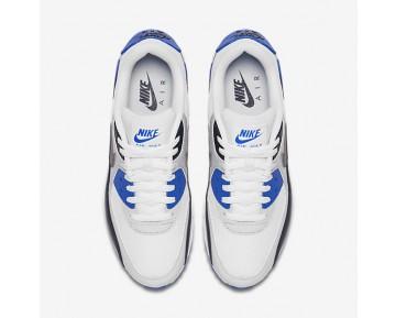 Chaussure Nike Air Max 90 Essential Pour Homme Lifestyle Obsidienne/Platine Pur/Bleu Coureur/Gris Foncé_NO. 537384-421