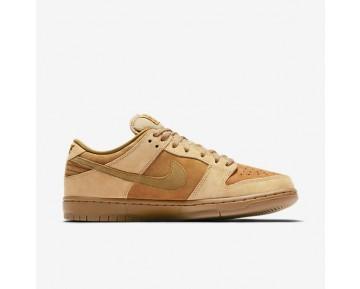 Chaussure Nike Sb Dunk Low Pro Pour Homme Skateboard Blé/Dune/Gomme Marron/Brindille_NO. 83232-700