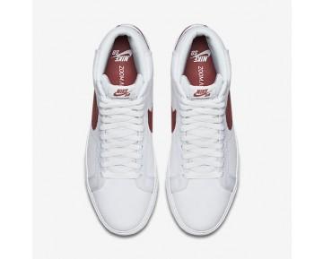 Chaussure Nike Sb Zoom Blazer Mid Canvas Pour Homme Skateboard Blanc/Cèdre_NO. 902662-169