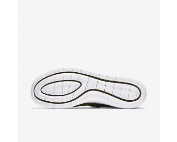 Chaussure Nike Air Sock Racer Ultra Flyknit Pour Homme Lifestyle Flak Olive/Noir/Blanc/Flak Olive_NO. 898022-002