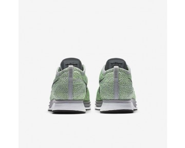 Chaussure Nike Flyknit Racer Pour Femme Running Vert Ombre/Gris Loup/Frappé/Gris Froid_NO. 526628-103