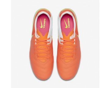 Chaussure Nike Tiempo Legacy Ii Fg Pour Femme Football Aigre/Volt/Hyper Rose/Blanc_NO. 819255-817