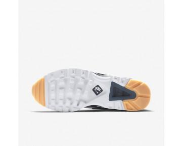 Chaussure Nike Air Max Bw Ultra Pour Homme Lifestyle Blanc/Bleu Industriel/Jaune Gomme/Marine Arsenal_NO. 819475-100