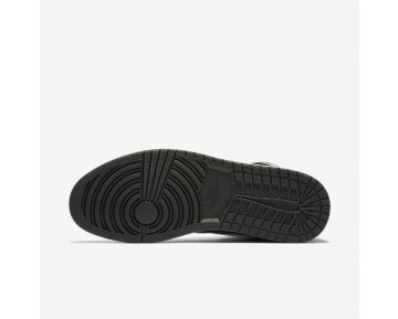 Chaussure Nike Jordan 1 Retro High Og Pour Homme Lifestyle Noir/Noir/Blanc_NO. 555088-011