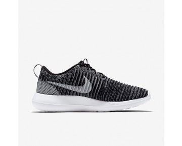 Chaussure Nike Roshe Two Flyknit Pour Homme Lifestyle Noir/Gris Loup/Vert Stade/Blanc_NO. 844833-007
