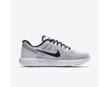 Chaussure Nike Lunarglide 8 Pour Homme Running Blanc/Noir_NO. 843725-101