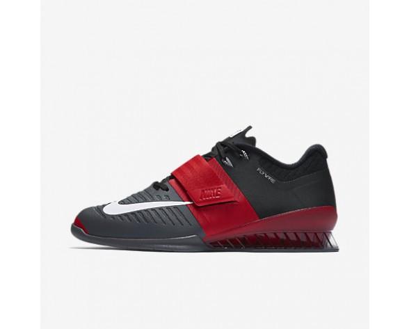 competitive price b4671 f340a Chaussure Nike Romaleos 3 Pour Homme Fitness Et Training Rouge Université Gris  Foncé Noir Blanc NO. 852933-600