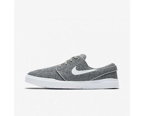 Chaussure Nike Sb Stefan Janoski Hyperfeel Mesh Pour Homme Skateboard Gris Loup/Noir/Blanc_NO. 898424-010