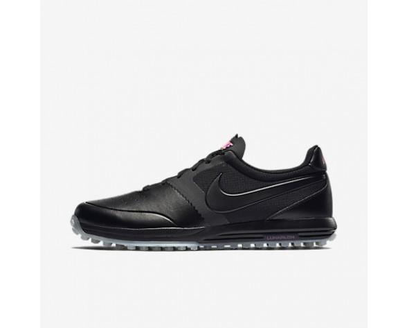 Chaussure Nike Lunar Mont Royal Pour Homme Golf Noir/Blanc/Rose Framboise/Noir_NO. 652530-005