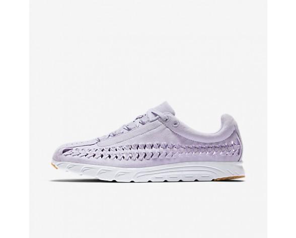 Chaussure Nike Mayfly Woven Qs Pour Femme Lifestyle Raisin Pâle/Blanc/Jaune Gomme/Raisin Pâle_NO. 919749-500