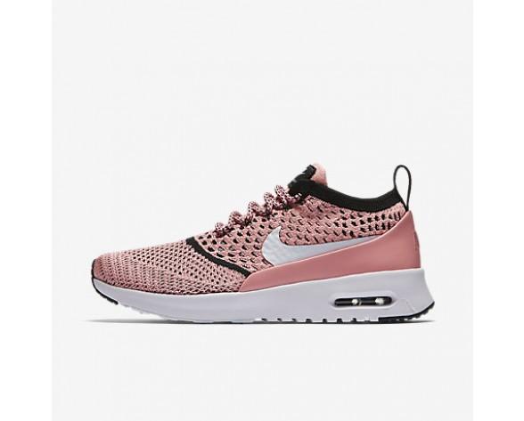 Chaussure Nike Air Max Thea Ultra Flyknit Pour Femme Lifestyle Melon Brillant/Noir/Blanc_NO. 881175-800