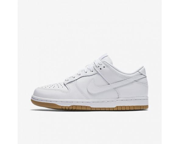Chaussure Nike Dunk Low Pour Femme Lifestyle Blanc/Platine Pur/Gomme Marron Clair/Blanc_NO. 311369-100
