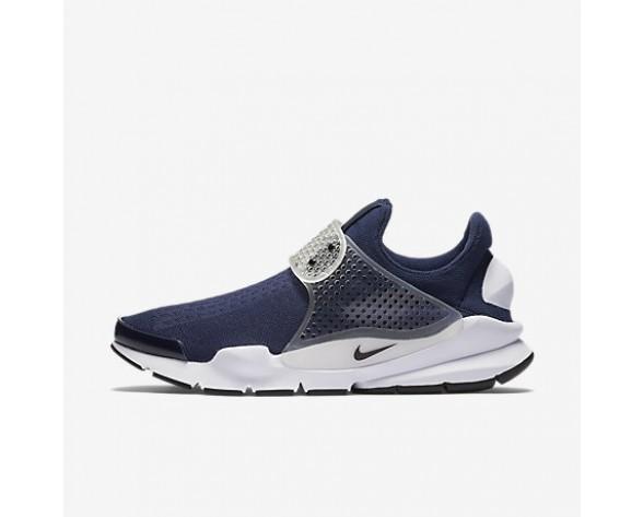 Chaussure Nike Sock Dart Pour Femme Lifestyle Bleu Nuit Marine/Gris Moyen/Blanc/Noir_NO. 819686-400