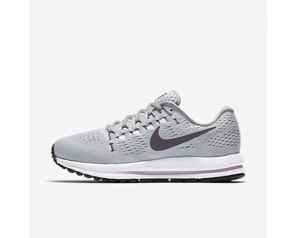 Chaussure Nike Air Zoom Vomero 12 Pour Femme Running Platine Pur/Gris Loup/Orchidée/Violet Dynastie_NO. 863766-003