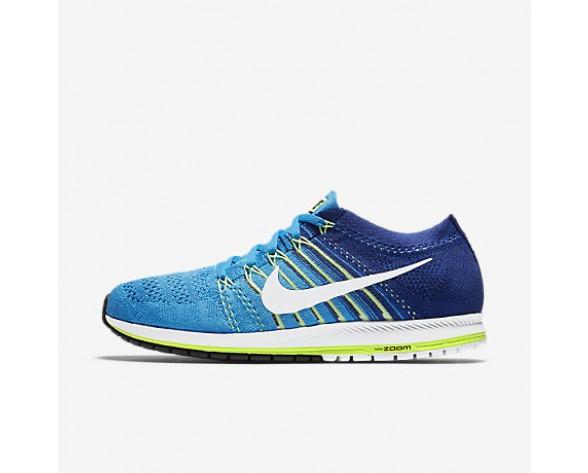 Chaussure Nike Zoom Flyknit Streak Pour Femme Running Bleu Rayonnant/Bleu Royal Profond/Vert Ombre/Blanc_NO. 835994-414