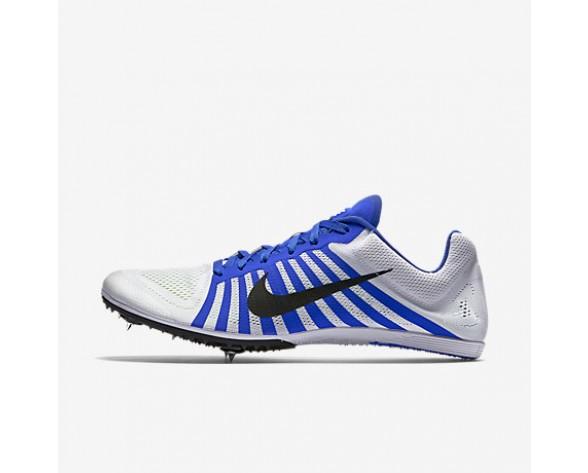 Chaussure Nike Zoom D Pour Femme Running Blanc/Bleu Coureur/Noir_NO. 819164-100