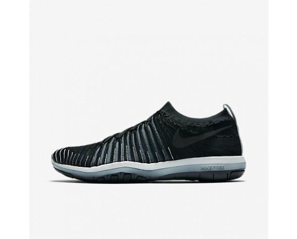 Chaussure Nike Lab Free Transform Flyknit Pour Femme Fitness Et Training Noir/Renard Bleu/Platine Pur/Noir_NO. 878552-001