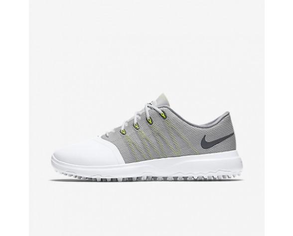 Chaussure Nike Lunar Empress 2 Pour Femme Golf Blanc/Gris Froid/Anthracite_NO. 819040-100
