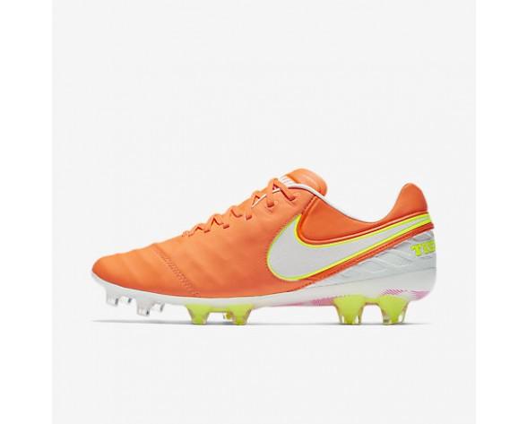 Chaussure Nike Tiempo Legend Vi Fg Pour Femme Football Aigre/Volt/Hyper Rose/Blanc_NO. 819256-817