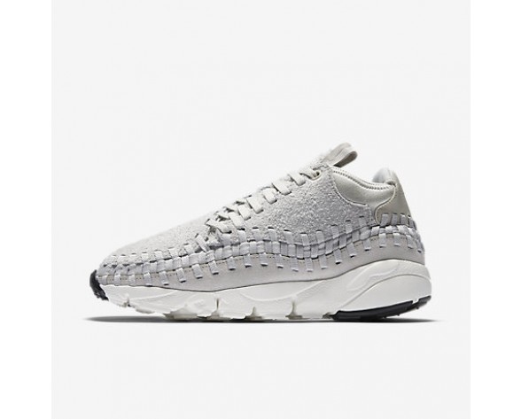 newest 86411 14006 Chaussure Nike Air Footscape Woven Chukka Qs Pour Homme Lifestyle Beige  Clair/Blanc Sommet/Beige Clair_NO. 913929-002