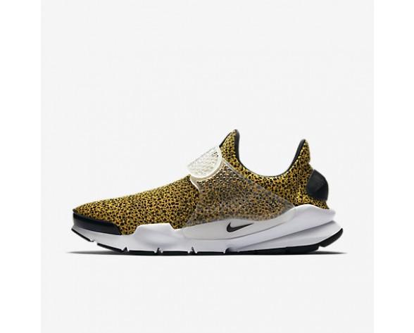 Chaussure Nike Sock Dart Qs Pour Homme Lifestyle Or Université/Blanc/Noir_NO. 942198-700