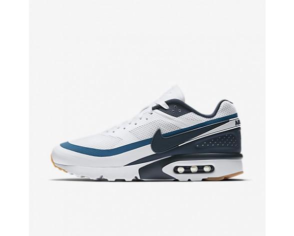half off d646d 72e09 Chaussure Nike Air Max Bw Ultra Pour Homme Lifestyle Blanc Bleu  Industriel Jaune Gomme Marine Arsenal NO. 819475-100