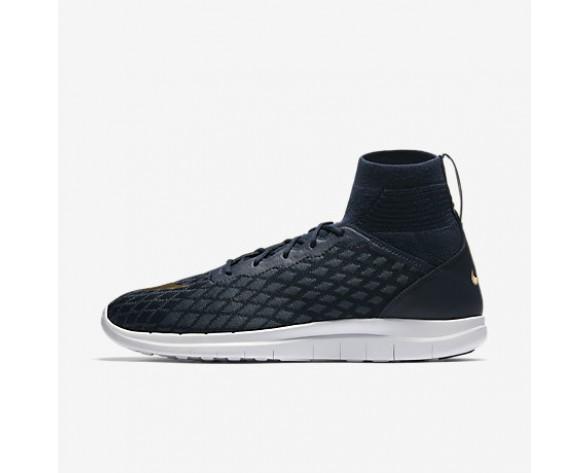 huge discount e7f50 86532 Chaussure Nike Free Hypervenom Iii Fc Flyknit Pour Homme Lifestyle Bleu  Marine Collège Renard Bleu Rouge Piste Or Métallique NO. 898029-400