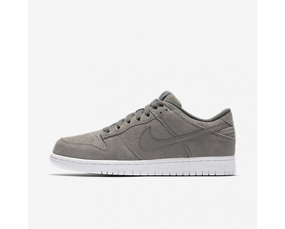Chaussure Nike Dunk Retro Low Pour Homme Lifestyle Gris Froid/Blanc/Gris Froid_NO. 896176-003