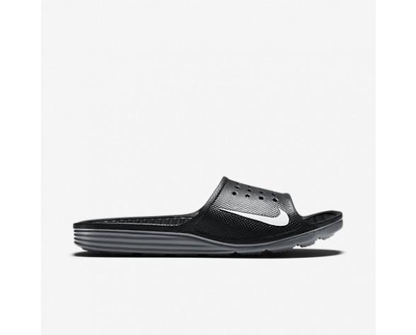 Chaussure Nike Solarsoft Pour Homme Lifestyle Noir/Blanc_NO. 386163-011