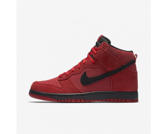 Chaussure Nike Dunk High Pour Homme Lifestyle Rouge Sportif/Noir_NO. 904233-600