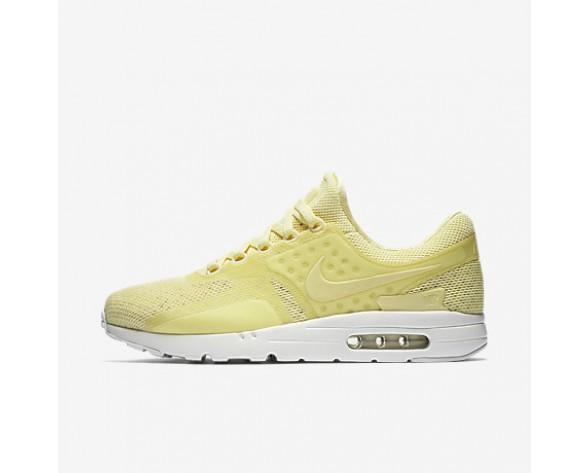 Chaussure Nike Air Max Zero Breathe Pour Homme Lifestyle Mousseline De Citron/Blanc/Beige Clair/Mousseline De Citron_NO. 903892-700