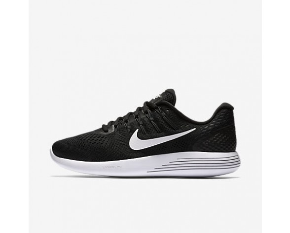 Chaussure Nike Lunarglide 8 Pour Homme Running Noir/Anthracite/Blanc_NO. 843725-001