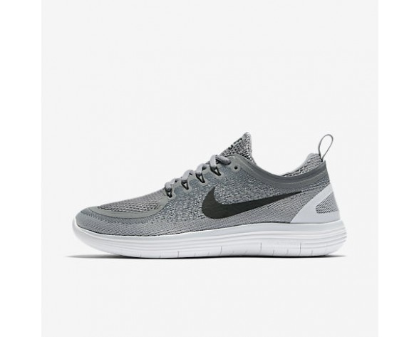 Chaussure Nike Free Rn Distance 2 Pour Homme Running Gris Froid/Gris Loup/Discret/Noir_NO. 863775-002