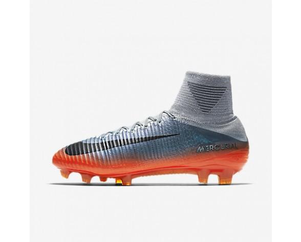 Chaussure Nike Mercurial Superfly V Cr7 Fg Pour Homme Football Gris Froid/Gris Loup/Cramoisi Total/Hématite Métallique_NO. 852511-001