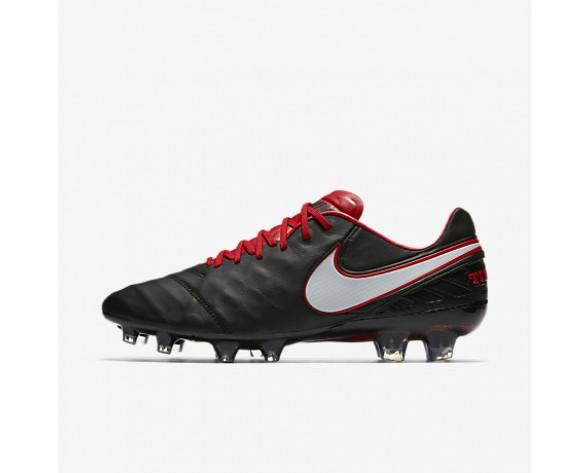Chaussure Nike Tiempo Legend Vi Fg Pour Homme Football Noir/Rouge Université/Blanc/Blanc_NO. 819177-016