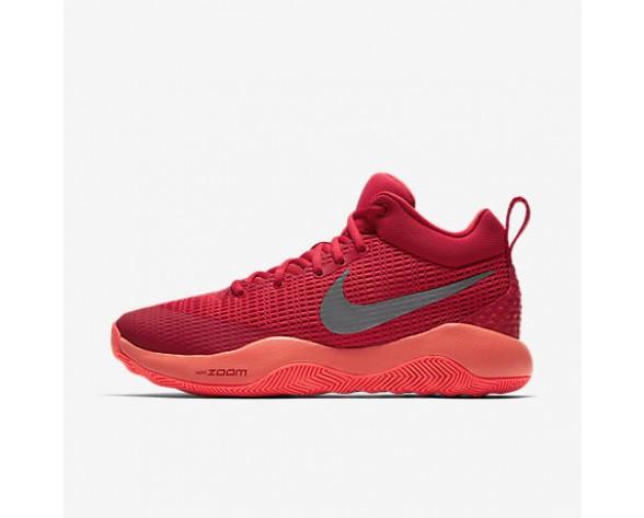 Chaussure Nike Zoom Rev 2017 Pour Homme Basketball Rouge Université/Cramoisi Total/Rouge Action/Argent Réfléchissant_NO. 852422-601