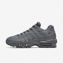 Chaussure Nike Air Max 95 Essential Pour Homme Lifestyle Gris Froid/Gris Froid/Gris Froid_NO. 749766-012