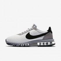 Chaussure Nike Air Max Ld-Zero Pour Homme Lifestyle Blanc Sommet/Gris Loup/Noir_NO. 848624-101