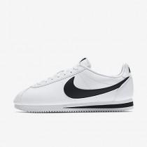 Chaussure Nike Classic Cortez Leather Pour Homme Lifestyle Blanc/Noir_NO. 749571-100