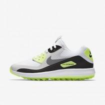Chaussure Nike Air Zoom 90 It Pour Homme Golf Blanc/Gris Neutre/Noir/Gris Froid_NO. 844569-102