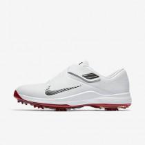 Chaussure Nike Tw 17 Pour Homme Golf Blanc/Rouge Université/Rouge Université/Gris Foncé Métallique_NO. 880955-100