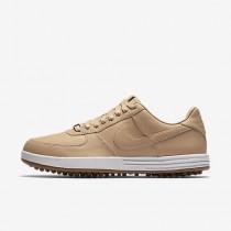 Chaussure Nike Lunar Force 1 G Premium Pour Homme Golf Brun Vachette/Voile/Gomme Marron/Brun Vachette_NO. 844547-200