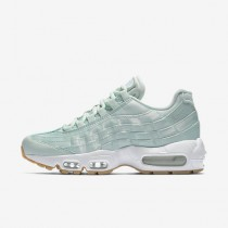 Chaussure Nike Air Max 95 Qs Pour Femme Lifestyle Fibre De Verre/Blanc/Jaune Gomme/Fibre De Verre_NO. 919491-301