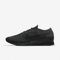 Chaussure Nike Flyknit Racer Pour Femme Lifestyle Noir/Anthracite/Anthracite/Noir_NO. 526628-009