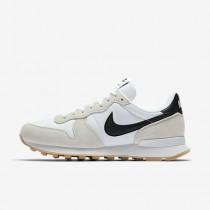 Chaussure Nike Internationalist Pour Femme Lifestyle Blanc Sommet/Jaune Gomme/Noir_NO. 828407-100