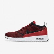 Chaussure Nike Air Max Thea Ultra Flyknit Pour Femme Lifestyle Rouge Université/Blanc/Noir/Noir_NO. 881175-601