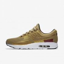 Chaussure Nike Air Max Zero Pour Femme Lifestyle Or Métallique/Blanc/Noir/Rouge Intense_NO. 789695-700