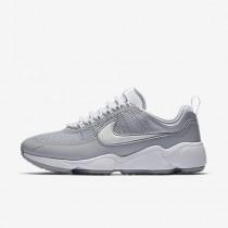 Chaussure Nike Zoom Spiridon Ultra Pour Homme Lifestyle Blanc/Gris Loup/Blanc_NO. 876267-100