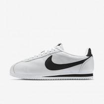Chaussure Nike Classic Cortez Premium Pour Femme Lifestyle Blanc/Noir_NO. 807480-101