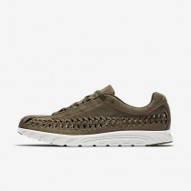 Chaussure Nike Mayfly Woven Pour Homme Lifestyle Olive Moyen/Noir/Beige Clair_NO. 833132-200